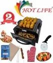 Hot Life 2-IN-1 Electric Tandoor With Tawa Multi Purpose Home & Kitchen Electric Tandoor (Small)