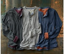 Henley Neck T Shirts