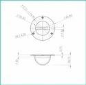 Fender / Mooring Eye ( Brass)