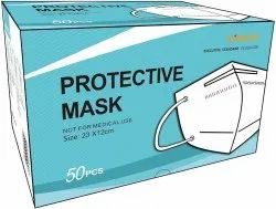 Reusable N95 Kn95 Ffp2 Respirator Mask, Number of Layers: 5 Layers
