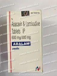 Abalam (Abacavir (600mg)   Lamivudine (300mg)