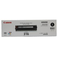 Canon Cartridge 316 Black Toner Cartridge