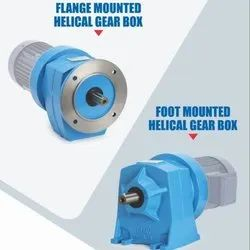 0.5HP to 7.5HP Foot Or Flange Geared Motor, Voltage: 440V (230 for Single Phase)
