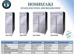 Stainless Steel Silver Hoshizaki HRW 127MS4 Refrigerator, Four Door, Capacity: 1040 Liters