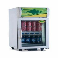 Stainless Steel Glass Door Refrigerator