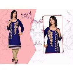 527637fada674 K. Siya Fashion - Manufacturer of Ladies kurtis & Ladies Leggings ...