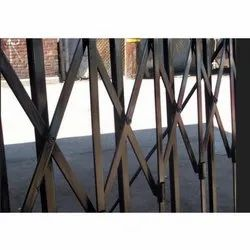 Designer Stainless Steel Collapsible Gate for School