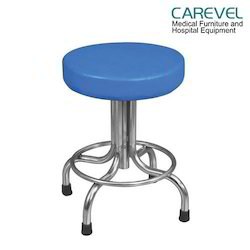 Patient Revolving Cushioned Stool
