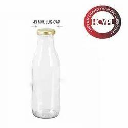 43 Mm Round Milk Glass Bottle