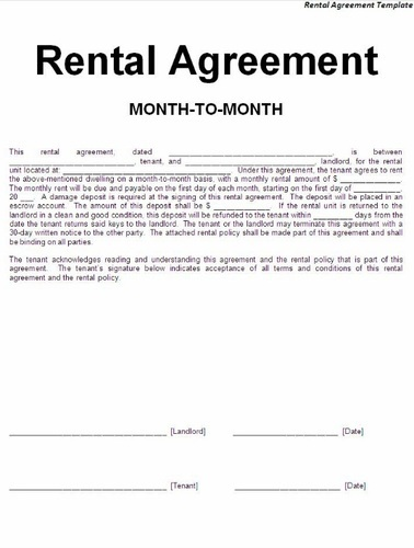 Commercial Rental Agreement Services Meeracorp Private Limited Id