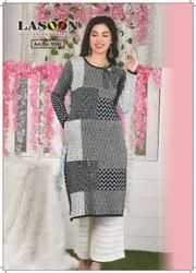 5085 Full Sleeves Woolen Kurtis