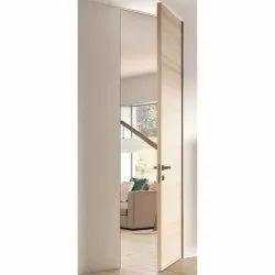 6-7 Feet Solid Wood Interior Wooden Flush Door