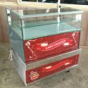 Glass Cash Counter