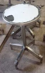 Steel SS304 Round Seat Stools for Office