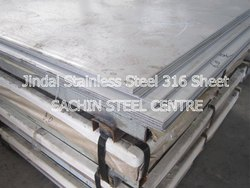 Jindal Stainless Steel 316 Sheet