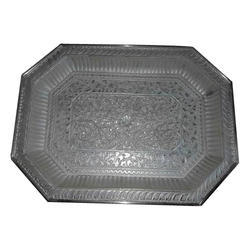 Polished Silver Tray