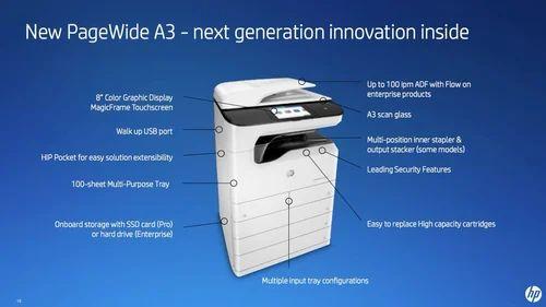 Hp A3 Photocopier Machine E72530dn Warranty 1 2 Years Rs