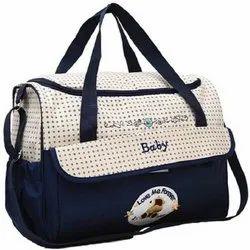 Awraaq Diaper Baby Bag, Nappy Changing Bag, Mumma''s Bag, Nursery Bag (Blue)