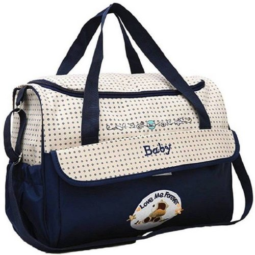 791242e102ba4 Awraaq Diaper Baby Bag, Nappy Changing Bag, Mamma's Bag, Nursery Bag (blue)