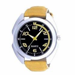 Quartz Dial Yellow Straps Watch
