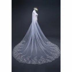 White Elegant Wedding Veils