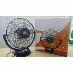 Black Electric portable Table Fan