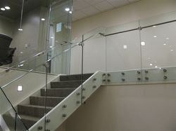 Glass Spider Railing