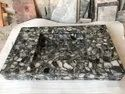 Black Agate Counter  Stone Basin