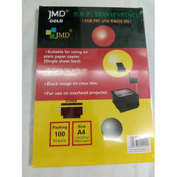 JMD A/4 OHP Transparency Film