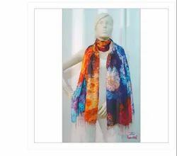 e243d73645 Printed Devarshy Digital Print Wool Scarves, Packaging Type: Packet