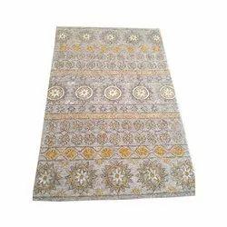 Handmade Printed Carpet, Size: 5 X 8 feet