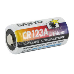 Sanyo CR 123 A Batteries