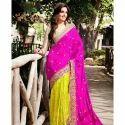 Ladies Designer Saree With Blouse Piece