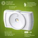 35lumens 4000k Motion Sensor Under Cabinet Led Light, Size: Small