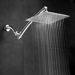 Stainless Steel Square Overhead Rain Shower