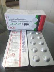 Montelukast 5mg Levocetirizine 2.5mg Tab