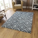 Rectangular Luxury Indian Hand Tufted New Collection 2018 Wool Rug