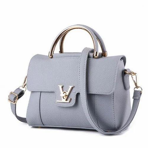 Rexine Plain Ladies Hand Bag 94d750458a65d