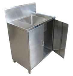 Hand Wash Sink Unit With Cabinet