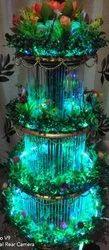 Christmas Tree Water Fountain