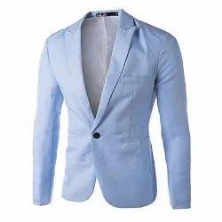Kelp Kollar Cotton Mens Plain Blazer, Size: Medium