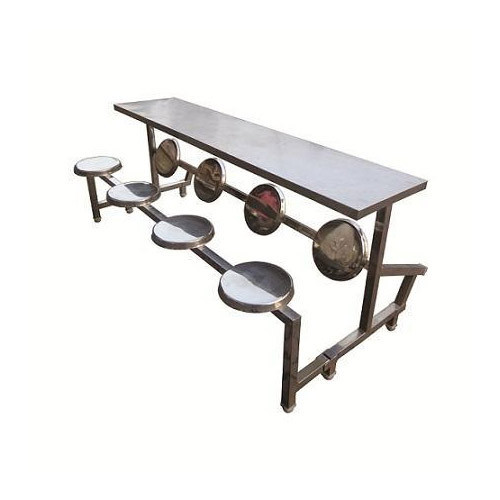 Stainless Steel Restaurant & Cafe Tables RK-RT28, Size: 2100 x 600 x 750 mm