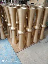 Torch Glass Vase