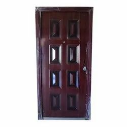 steel Swing security Safety Door, For Home, Size: 2050 X 1050 Mm