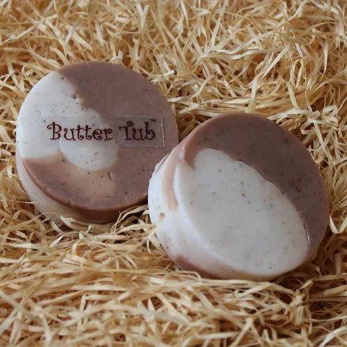 Cocoa Choco Scrub Herbal Soap