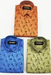 Printed Cotton Stone Shirts