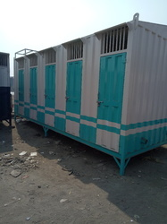 MS Modular Portable Toilet Cabin