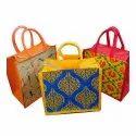 Fancy Jute Shopping Bag