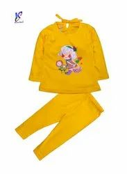 BABY GIRL TOP WITH FULL PANT