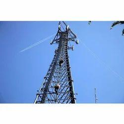 Wireless Mast Tower Fabrication Service
